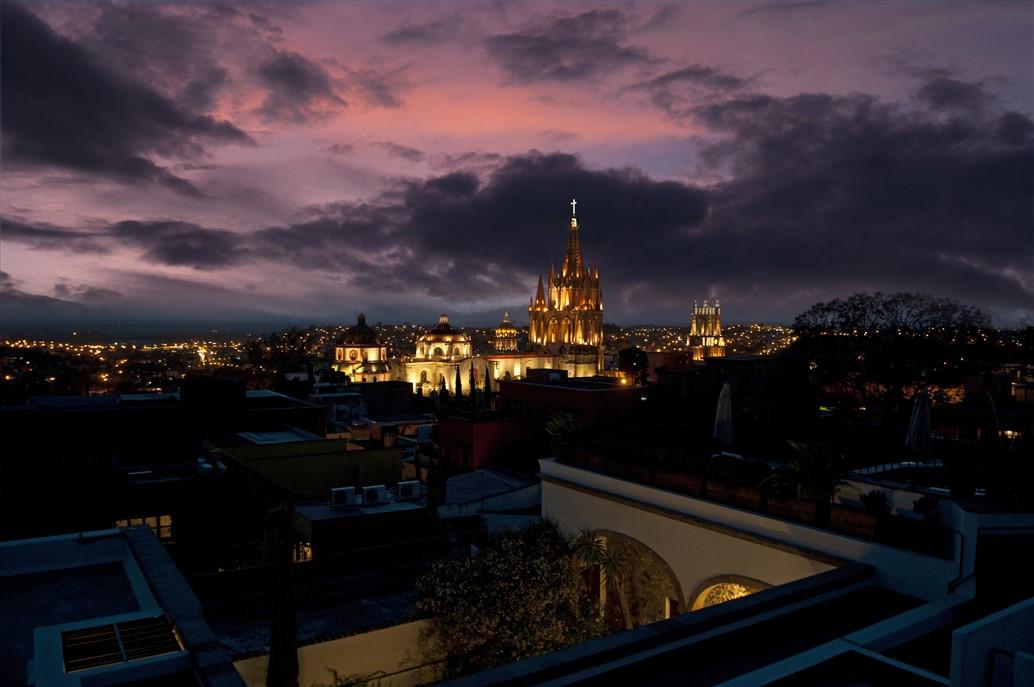 San-Miguel-de-Allende-Purple-Night