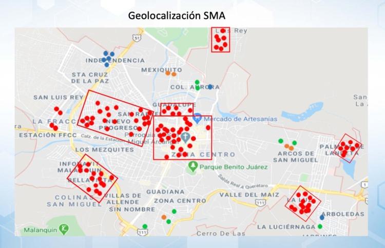 MAPA ZONAS DE RIESGO SSA